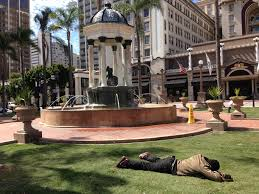 horton plaza homeless plaza the san diego union tribune