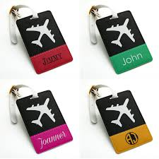 personalized name tag luggage tag bag tag travel tag suitcase