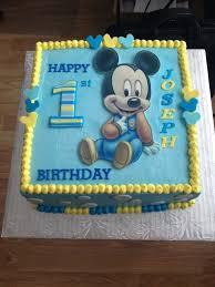 baby mickey 1st birthday baby mickey mouse 1st birthday cake best 25 ba mickey cake ideas