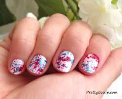 how to splatter paint nails pretty gossip