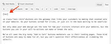 How To Do A Table Of Contents How To Add A Table Of Contents To Wordpress Posts And Pages