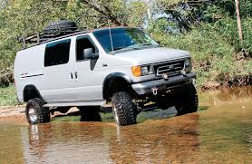 Ford Trucks Mudding 4x4 - hank williams iii u0027s 2004 ford e 350