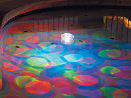 solar swimming pool lights under water floating fountain and light show pool lights for fun
