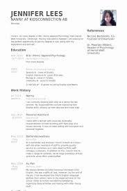 nanny resume template nanny resume template awesome nanny resume templates free nanny