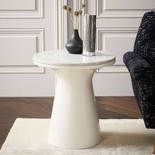 white pedestal side table marble topped pedestal side table white marble white интерьер