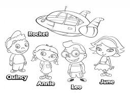 little einsteins coloring pages getcoloringpages within the