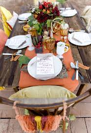 Thanksgiving Table Setting Ideas by Thanksgiving Table Setting On Art In The Find