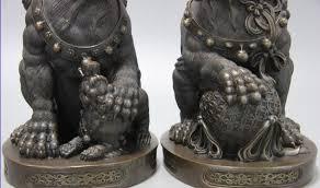 foo lion statue collectible bronze lion statue s1043 10 china bronze copper
