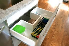 Under Kitchen Sink Storage by Design Dump Drawers Under The Kitchen Sink