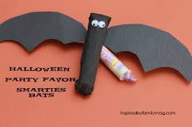 Halloween Party Favor Ideas by Halloween Party Treats Smarties Bats Inspired By Family
