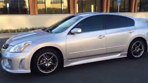 nissan altima white 2012 2012 nissan altima 2 5s body kit duraflex sigma youtube