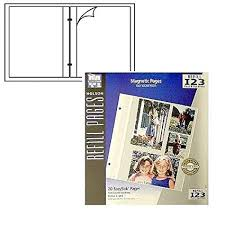 holson photo album refill pages holson burnes reg easystik reg magnetic post bound