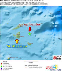 St Martin Map Eye 4 Weather St Maarten Latest Earthquake Update U2013 St Maarten