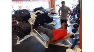 Ronnie Coleman Bench by Most 2465 Pound Leg Press Repetitions World Record Joseph Holt