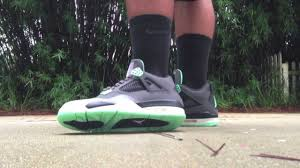 green glow 4 air 4 retro green glow mint review on