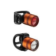 lezyne femto drive bike lights lezyne femto drive front and rear bike light set orange