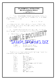 oklahoma last will and testament form templates u0026 samples