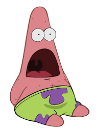 Patrick Star Meme - molothrus aeneus star surprised patrick and patrick meme