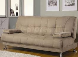 Convertible Leather Sofa by Homcom Convertible Faux Leather Sofa Bed Reclining Chair Couch