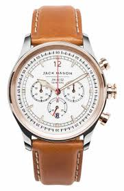 Georgia watch travel case images Jack mason leather genuine chronograph watches for men nordstrom jpg