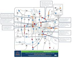 Twin Cities Map Twin Cities Traffic Woes Weekend U0027s Not Bad Then Comes Monday