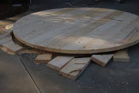 Diy Round Coffee Table by 70 Inch Round Table Top Rogue Engineer