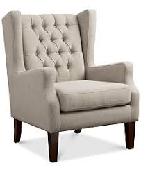 Wingback Accent Chair Wingback Accent Chairs And Recliners Macy U0027s