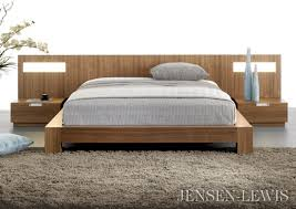 Bed And Nightstand Nearly 2900 But So Beautiful Mobican Stella Flat Panel Bed With