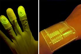 Light Up Gloves Infused Gloves And Bandages Light Up When In Contact With Certain
