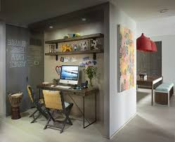 kawaii bedroom home office contemporary with feature wall metal kawaii bedroom home office eclectic with chalkboard paint paper clipboards