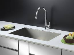 kitchen sink with faucet set ruvati rvc2602 stainless steel kitchen sink and chrome faucet set