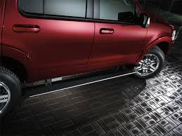 Ford Escape Accessories - running boards black molded the official site for ford accessories