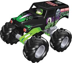 remote control monster truck grave digger amazon com k u0027nex monster jam grave digger toys u0026 games