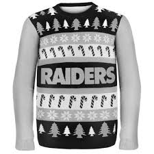 raiders christmas sweater with lights raiders wordmark ugly sweater