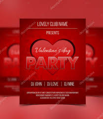 valentines flyer template s day flyer template and modern and