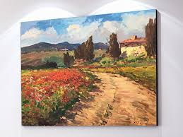 Landscape Canvas Prints by Amazon Com Tuscan Chianti Country Wall Art Tuscany Italy Artwork