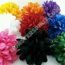colored football mum flowers for homecoming mums and garters
