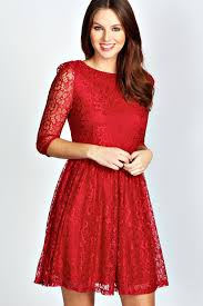 Christmas Party Dresses with Sleeves Collection 2017