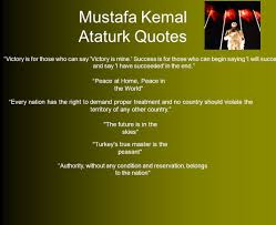 quotes victory success mustafa kemal ataturk republic forever preservation and to