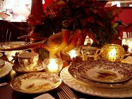 Thanksgiving Table Thanksgiving Tablescape Table Setting With Spode Woodland