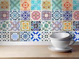 spanische k che badezimmer fliesenaufkleber home design magazine www