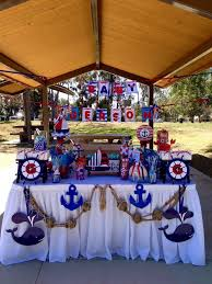 anchor baby shower ideas nautical baby shower decorations party ideas jagl info