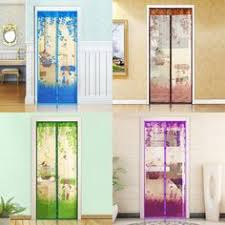 Magic Mesh Curtain Anti Mosquito Insect Screen Door Net Mesh Magnetic Shower Curtain