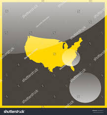 Map Uf United States by Map United States Stock Vector 543589525 Shutterstock