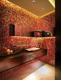 Decorative Sinks For Powder Room Unique Powder Rooms Rustic Powder Room With Unique Sink Design