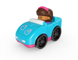 toddler toy car fisher price little people sports car