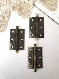 Vintage Kitchen Cabinet Hardware Door Hinges Vintage Stylet Hinges Copper Hardware Kitchen Door