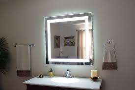 bathroom mirror and lighting ideas the ideas of bathroom mirror with light afrozep com decor