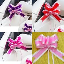 pull bow ribbon 100 x beautiful large size 50mm pull bow ribbon bowknot gift