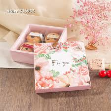 Wedding Cake Gift Boxes Aliexpress Com Buy 10pcs Lot Chocolate Gift Box For You Squre